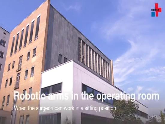Bras robotisés dans la salle d'opération - Quand le chirurgien peut travailler en position assise