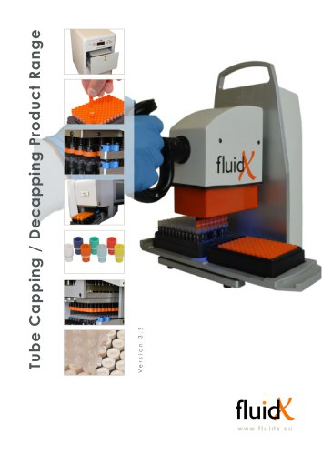 Tube Capping / Decapping Product Range