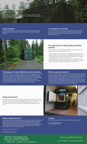 Containerised Pet Crematoria