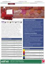 Incinérateur de déchets médicaux Addfield GM750 - Fiche technique