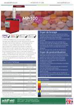 Incinérateur de déchets médicaux Addfield MP100 - Fiche technique