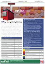 Incinérateur de déchets médicaux Addfield MP500 - Fiche technique