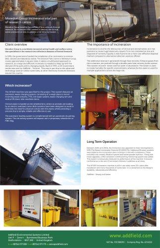 Moredun Group incinerator vital part of research centre