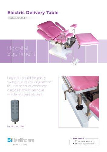 Brochure_Electric delivery table(BID006E)_BiHealthcare
