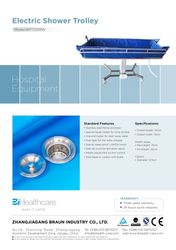 Brochure_electric shower trolley(BIPT008W)_BiHealthcare