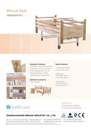 Brochure_Homecare bed(BIH012MH)_BI Healthcare