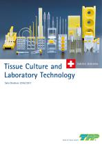 Tissue Culture and Laboratory Technology Sales Brochure 2016 / 2017