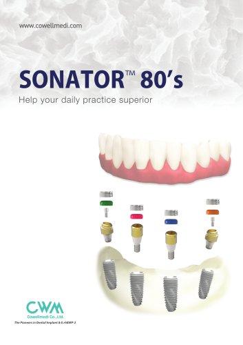 SONATOR™ 80's