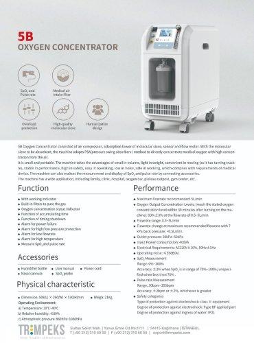 5B Oxygen Concentrator 5L