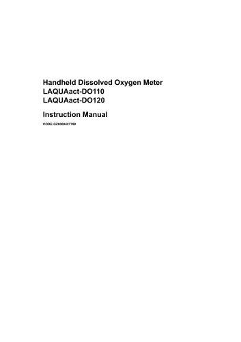 LAQUAact-DO110 LAQUAact-DO120