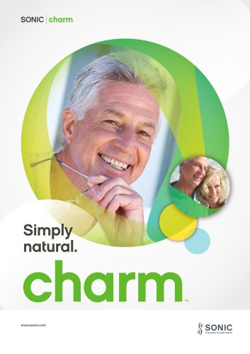 Simply natural. charm