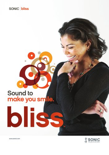 Sound Bliss to make you smile.