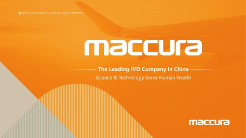 Maccura Biotechnology Company Introduction