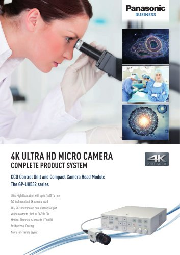 Panasonic 3MOS 4K Ultra HD Camera