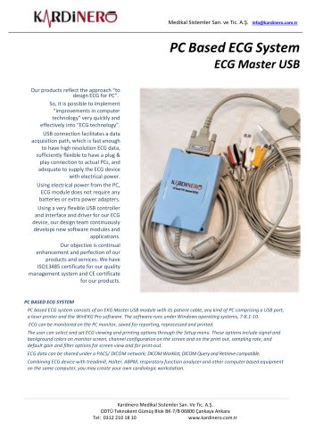 Brochur ECG Kardinero-EN