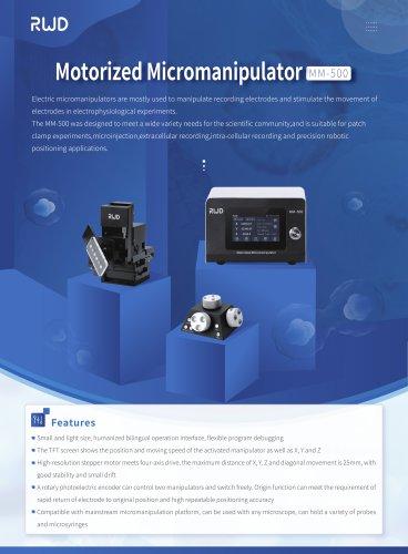 RWD-Motorized Micromanipulator MM-500