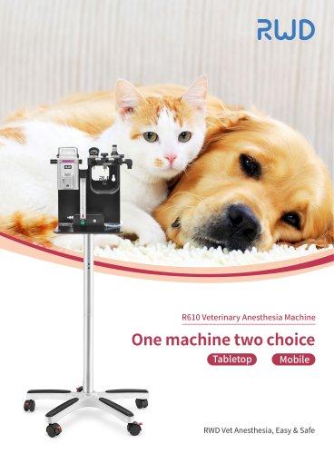 RWD R610 Veterinary Anesthesia Machine Table