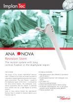ANA.NOVA® Revisions Stem