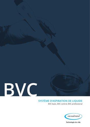 BVC basic, BVC control, BVC professional