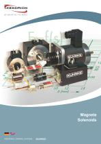 Catalogue Holding Solenoids