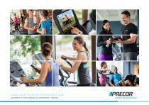 Catalogue commercial Precor
