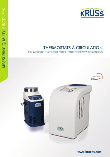 Thermostats à circulation