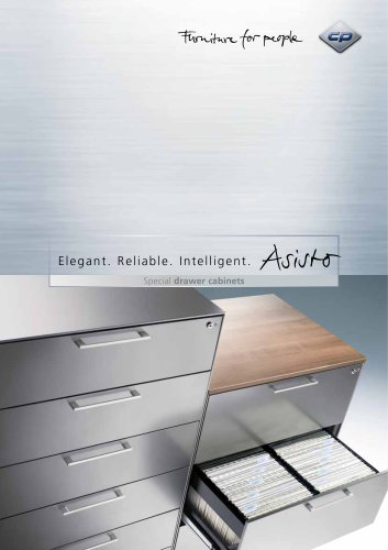 Special drawer cabinets