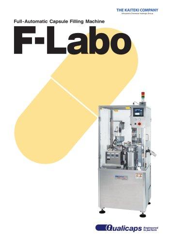 F-Labo Fully-Automatic Capsule Filling Machine