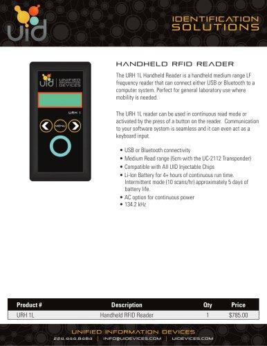UID Handheld Reader