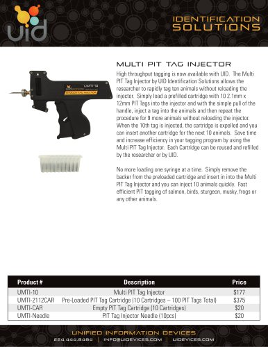 UID Multi PIT Tag Injector