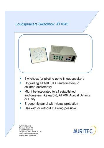 Loudspeakers-Switchbox AT1643