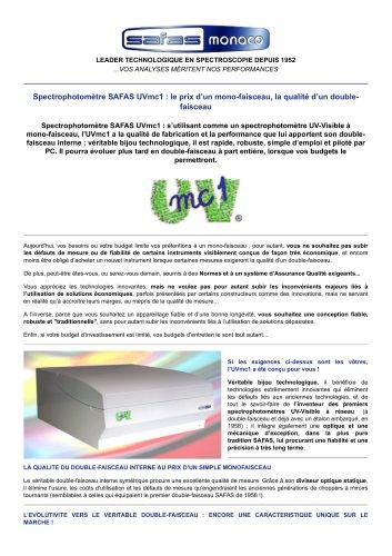 SAFAS UVmc1