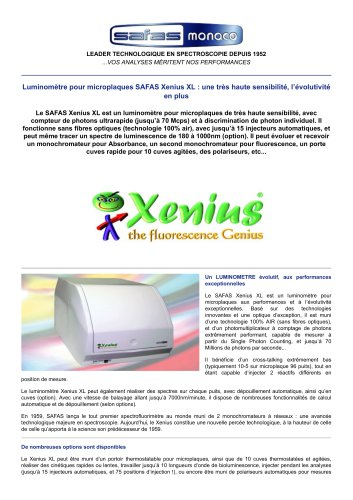 SAFAS Xenius XL