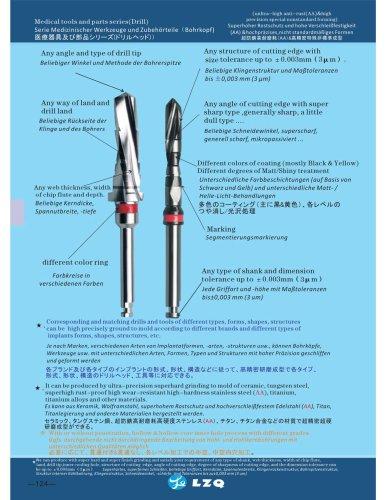 Dental implant drill