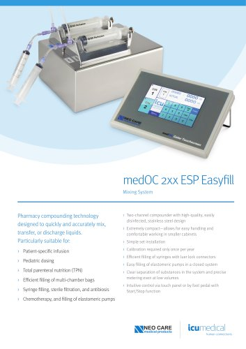 medOC 2xx ESP Easyfill