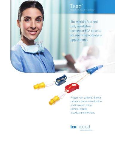 Tego® Needlefree Hemodialysis Connector