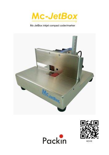 JetBox-Mc desktop inkjet coder