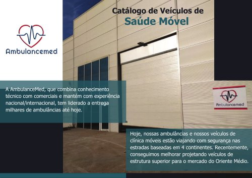 Mobile Clinic Catalog Portugal 2020