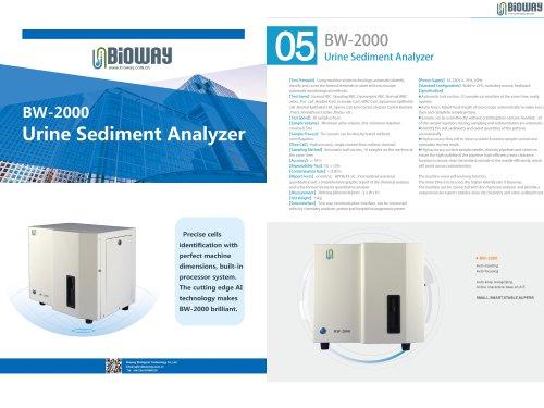 Urine Sediment Analyzer BW-2000