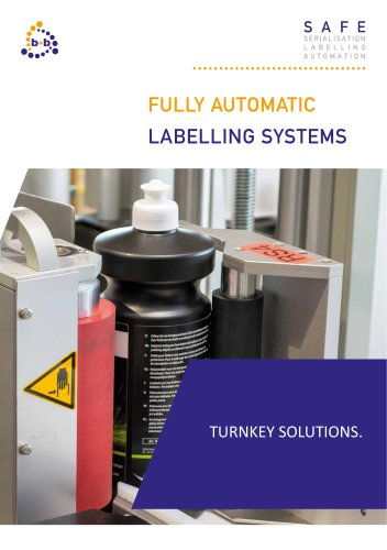 Fully automatic labelling system