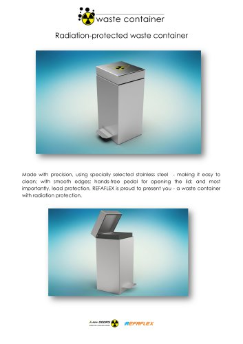 X-Ray Waste Container