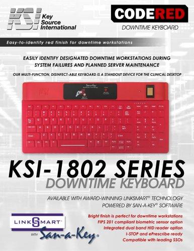 KSI-1802 Downtime Keyboard Datasheet
