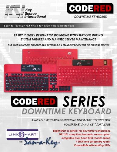 KSI CodeRed Keyboard Series Datasheet