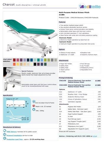 CHA2100 Electronic