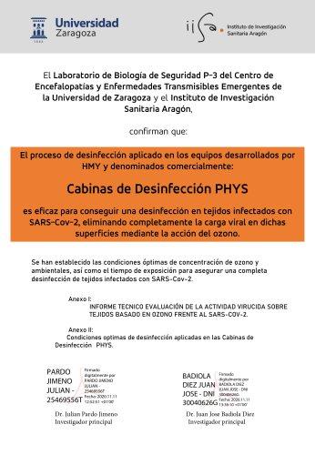 certificado Sars Cov2