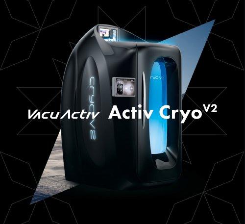 Activ Cryo V2 - Cryotherapy chamber - Cryosauna