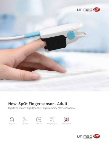 Unimed New Fingertip SpO2 sensor U403NC-01