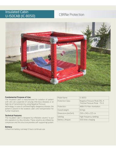 Medical Isolation Chamber IC-8050