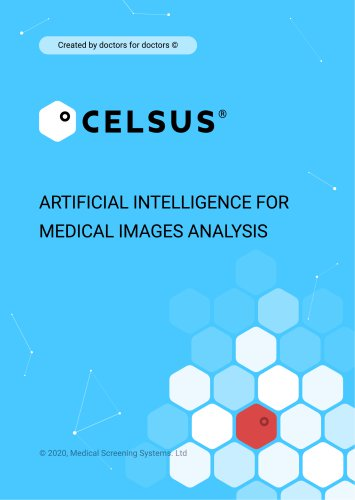 Artificial intelligence FOR MEDICAL IMAGES analysis