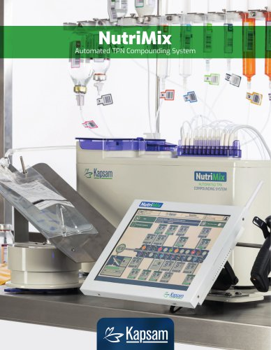KAPSAM NutriMix Automated TPN Compounding System